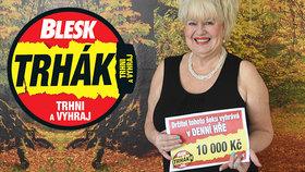 Desetitisícová výhra v Trháku Helenu Habartovou dojala: Ukápla i slza…