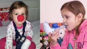 Smutná slova těžce nemocné Katky (9): Za léky půjdu pěšky až do Česka!