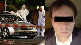 U Lidlu střílel Tobias (†43). Paranoidní xenofob zabil i těhotnou matku dvou dětí