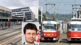 Velká rekonstrukce Sokolovské: Tramvajová trať se propadá, jak opravy omezí dopravu?