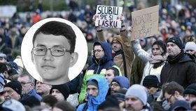 """""""Nedajte sa oje*ať."""" Památku vraždy Kuciaka uctily tisíce Slováků, zlobí se na vládu"""