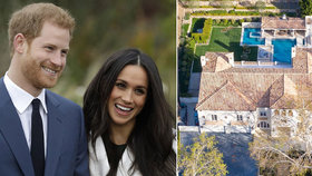 Harry a Meghan na dně? Sotva! Dům za 160 milionů vedle Mela Gibsona!