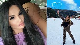 Slovenská královna plastik Plačková: Z dovolené na horách se chlubí luxusem!