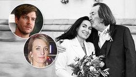 Bolek Polívka se potřetí oženil, jenže... Nepozval ani svoje děti!