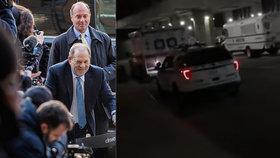 Chlípný producent Weinstein byl po odsuzujícím verdiktu převezen do nemocnice! Měl potíže se srdcem