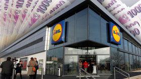 Lidl zvyšuje platy, prodavači a pokladní si polepší o 570 korun. Mzdy zvedne i Penny