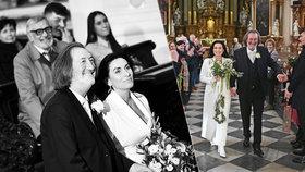 Byla to romantika jako trám! Nové fotky třetí Polívkovy svatby berou dech