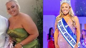Nešel k oltáři kvůli její váze: Z boubelky se pak stala Miss Británie!