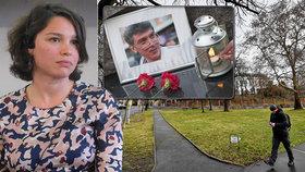 Ruská ambasáda v Praze změnila adresu. Přejmenování na náměstí Borise Němcova vyvolalo pískot, řev a potlesk