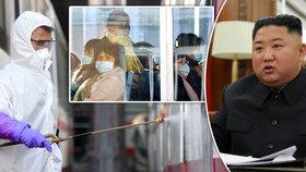"""Kim zneužívá koronavirus k posílení moci: KLDR žádá """"absolutní poslušnost"""""""