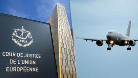 Pasažér pokousal posádku letadla a zpozdil ho. Na odškodnění není nárok, rozhodl soud EU