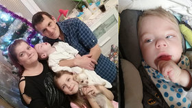 Malý Michálek je těžce nemocný: Rodina potřebuje pomoci s léčbou!