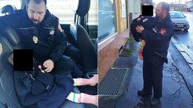 Dívka (3) se toulala ulicemi Ústí nad Labem: Měla na sobě jen noční košilku!