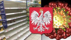 Obklíčeni koronavirem. Fronty v obchodech, panika i drahé roušky zasáhly sousedy z Polska
