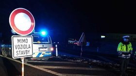 Policie uzavřela dálnici D1: Auta tam mají na 14 hodin zákaz