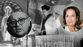 Tajemství otce herečky Freimanové: Bolševický režisér! Natáčel i proces s Horákovou