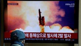 Severní Korea odpálila dvě rakety. Ostrá akce, nebo pokračující cvičení?