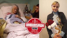 Vlasta (54) bojuje o vlastní mámu (88) se sociálkou! Bojím se, že v domově důchodců umře!