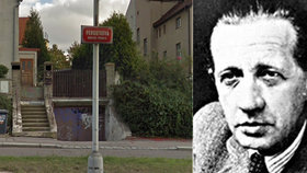 Ferdinand Peroutka bude mít v Praze 5 sochu. Stát by mohla blízko domu, kam si pro něj přišli nacisté