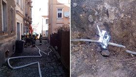 Dělníci překopli plynové potrubí: Hasiči museli evakuovat celou ulici!