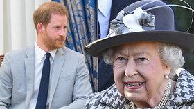 Zoufalá prosba královny Alžběty (93)! O co žádá Harryho a Meghan?