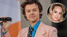 Hubená Adele a Harry Styles z One Direction: Tajná společná dovolená!