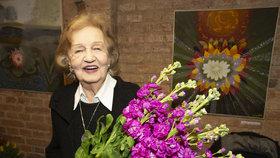 Blanka Bohdanová slavila 90. narozeniny: Věk neřeší! Věnuje se své vášni