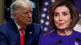 Trump to schytal od šéfky demokratů: Lhář a nejnebezpečnější člověk v dějinách USA