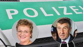 """Babišova """"pomatená"""" europoslankyně? Bavorská policie vyšetřuje výhrůžky z Prahy"""