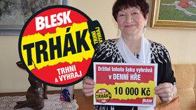 Margita Svobodová (76) uspěla v Trháku: 10 tisíc na super kávovar!