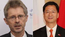 Vystrčil bude chtít vyměnit čínského velvyslance, míní Stanjura. Kvůli dopisu k Tchaj-wanu