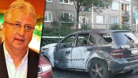 Poslanec Vincent Lukáč: Podpálili mu mercedes!
