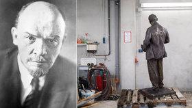 V západním Německu vztyčí první sochu Lenina: Soudruha koupili z Česka!