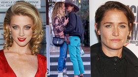 Sexy bývalka Deppa Heardová má novou lásku! Je to holka a fanoušci zuří
