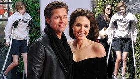 Děti Angeliny a Brada šly pod kudlu! Bojují o přežití, šokovala herečka
