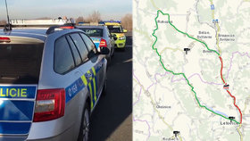 Srážka dvou dodávek zastavila tah ze Svitav na Brno: Objížďka je dlouhá 22 km a je to na celý den