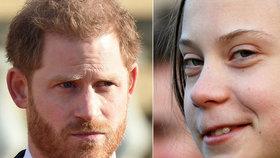Princ Harry se stal terčem vtipu: Falešné Gretě vyzradil všechno!