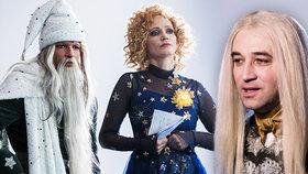 Malfoy, Gandalf a nebesky krásná Geislerová? To je nová česká vánoční pohádka