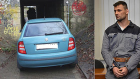 Zfetovaný Roman (37) drtil autem důchodce v podchodu: Soud mu potvrdil trest jako za vraždu