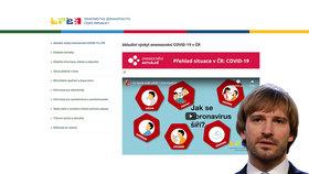 Kolik je nakažených koronavirem v Česku a ve kterých krajích? Nový web zná podrobnosti
