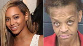 Ošklivka Beyoncé: Zlodějka tvrdila policii, že je známá zpěvačka!