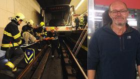 Děsivé i úsměvné situace v metru: Vedoucí provozu zachraňoval od pantoflí až po psy a lidi