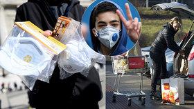 Koronavirus semkl Česko: Lidé nabízí roušky pro nemocné rakovinou i pomoc s nákupy pro seniory