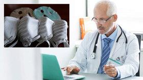 """""""Bez roušek zavřete,"""" vyzývá sdružení praktiky. Doktorům dochází i dezinfekce a rukavice"""