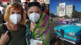 Jak se cestuje v době pandemie po světě? Roušky a peklo na letišti v Havaně