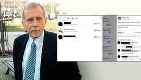 """""""Jedno odmítnutí cigana rasismus nedělá"""": Ombudsman Křeček na sociální síti lajkoval rasistický příspěvek"""