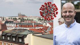 50 respirátorů pro milionové město? Výsměch od státu, říká radní Hlubuček. Praha zřídí vlastní odběrové stany