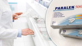 Češi vykupují léky s paracetamolem. SÚKL prosí: Nedělejte si zbytečně zásoby