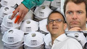 Křetínský s Tkáčem darují respirátory a roušky za 215 milionů. Zamíří do Česka i na Slovensko