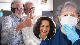 Psychická pomoc pro seniory? Sdílejte obyčejné věci, dejte jim úkol, radí psycholožka
